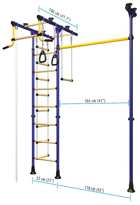 indoor play structures catalog model Comet 3.XX