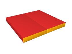 Gym mat, 100x100x10 cm